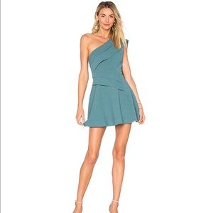 C/MEO Don't Stop Dress in Emerald